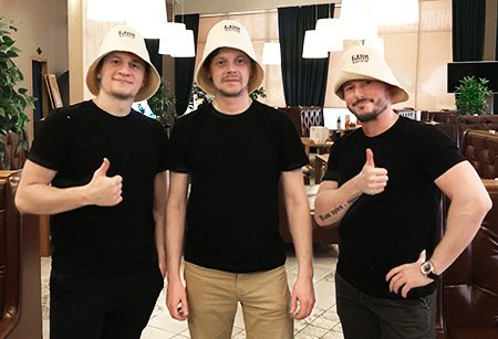 "Команда MMStudio на съемках видеорекламы для ""Андреевские бани"""