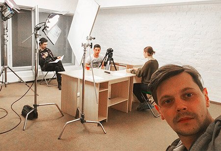 Рабочий процесс над созданием сценария для видео