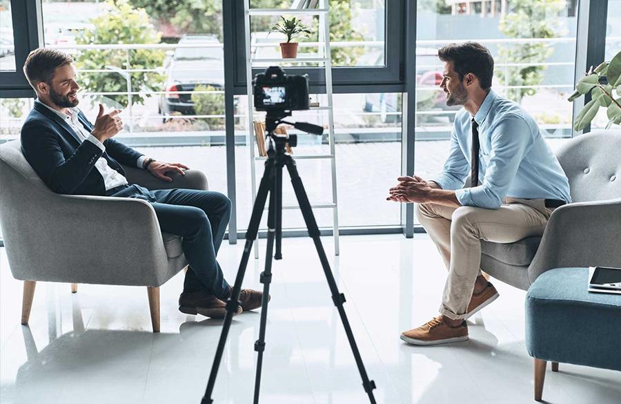 видео интервью с руководителем