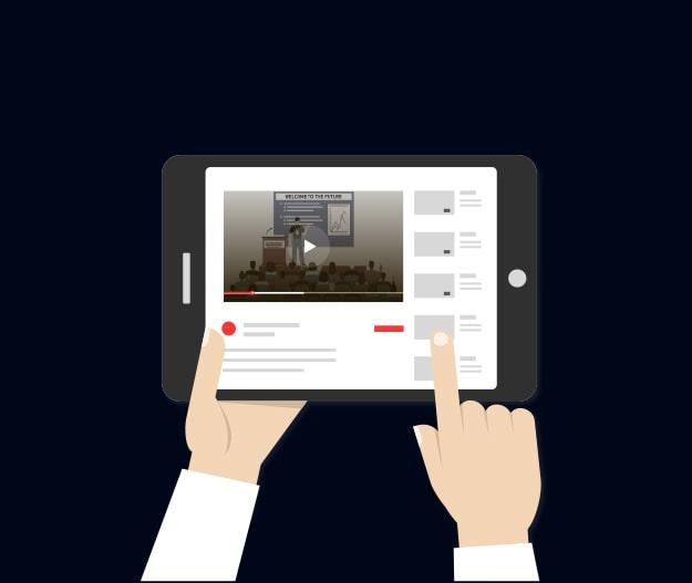 проведение онлайн-трансляций в youtube, vk, ok, facebook